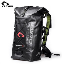 CUCYMA Full Waterproof Hiking Backpack Tail Saddle Bags Motorbike Motorcycle Rear Package Helmet Bag