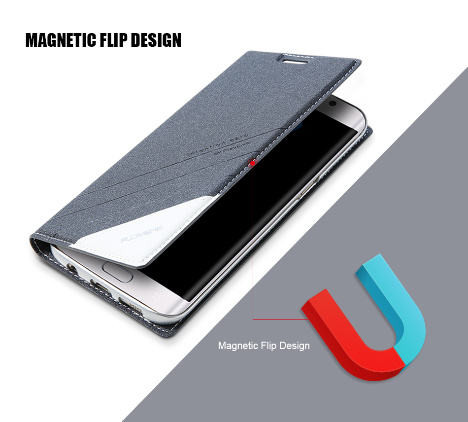 Magnetic Flip Leather Case For iPhone 5 6 7 Plus Card Slot Cover S8 BOB (9)
