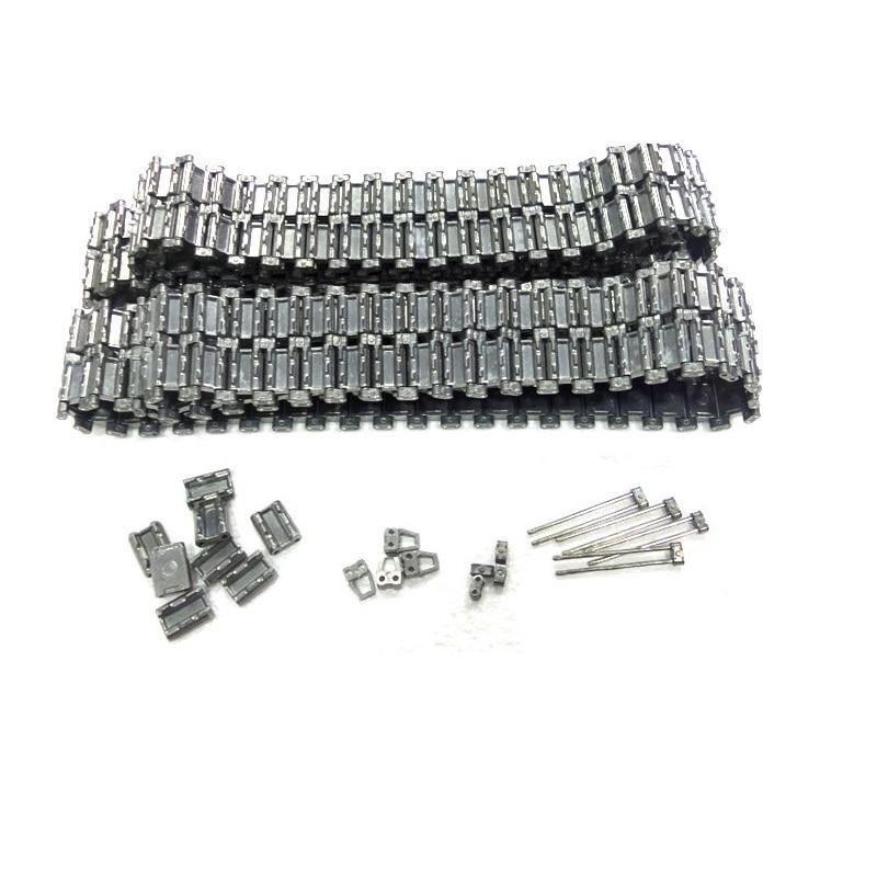 цена на henglong 3938 3938-1 Russian T90 1/16 RC tank upgrade parts metal Chain set free shipping