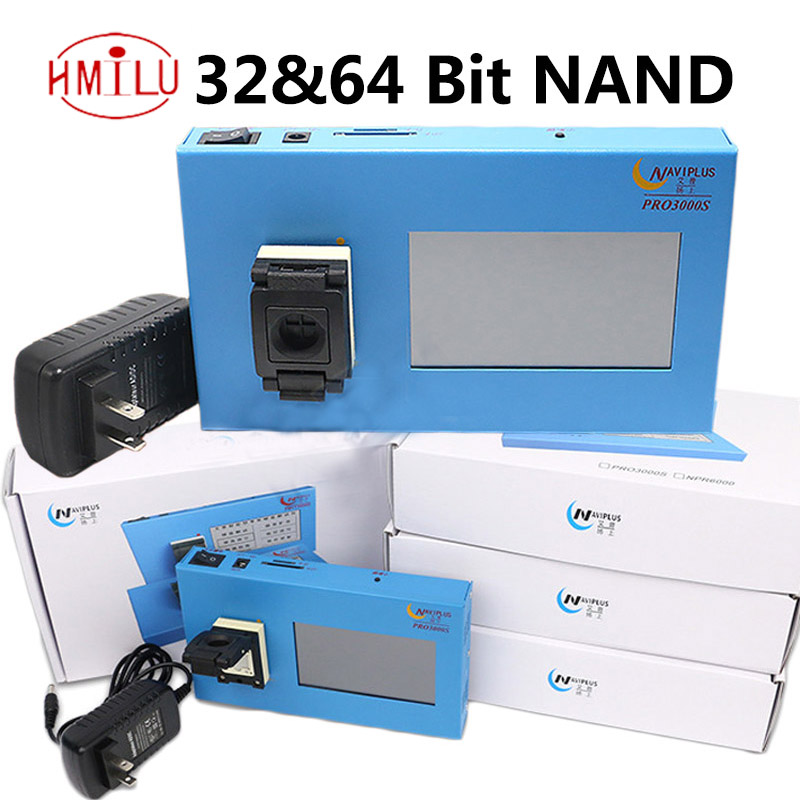 navi pro3000 32 64 bit nand IC chip programmer iPhone 4 to 6P iPad Tool Fix Repair Motherboard HDD Chip Serial Number SN Model 64 bit ic chip programmer machine repair mainboard nand flash hard disk hdd serial number sn for iphone 5s 6 plus ipad air 2 3