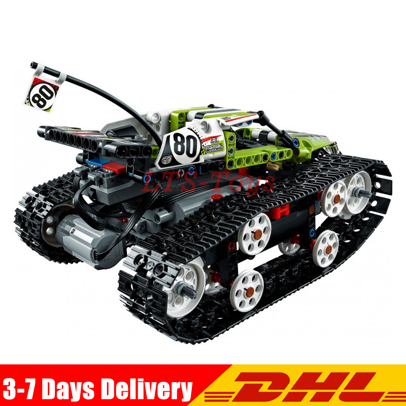 Lepin 20033 Technic Series The RC Track Remote-control Race Car Set Building Blocks Bricks Children Legoings 42065 Toys