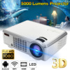 7000 Lumens 1080P Full HD Wireless Projector 3D LED Home Theater Cinema Multimedia Beamer HDMI USB