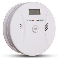 Safurance Carbon Monoxide Detector Smoke Fire Alarm Sound Combo Sensor Battery Operated 9V High Sensitive