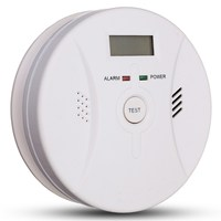 Safurance Carbon Monoxide Detector Smoke Fire Alarm Sound Combo Sensor Battery Operated 9V High Sensitive