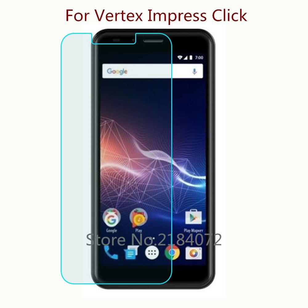 9 H 2.5d Screen Protector Glas Voor Vertex Impress Klik Gehard Glas Smartphone Front Film Beschermende Scherm Fijn Vakmanschap