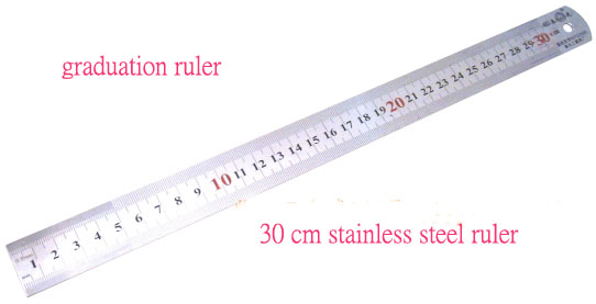 3pcs Lot Stainless Steel Measuring Straight Ruler Measure For 30cm 12 English Both Side Inch And Centimeter Free Shipping Measure Evaluation Ruler Setmeasure Suit Aliexpress