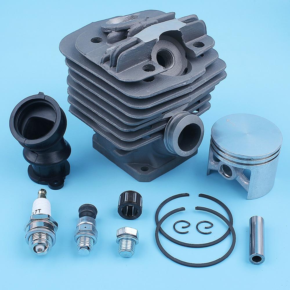 Tools : 48mm Nikasil Big Bore Cylinder Piston Bearing Kit For Stihl 036 MS360 MS360C 034AV 034 SUPER MS340 Chainsaw 1125 020 1215