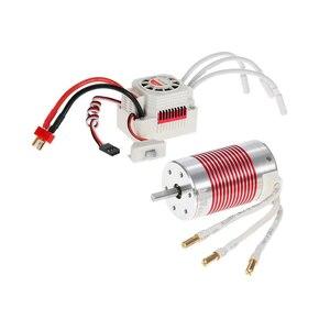 Image 2 - Motor sin escobillas SURPASSHOBBY Platinum, 3665 3100KV 2600KV 2100KV con tarjeta de programación ESC de 60A para Traxxas Axial