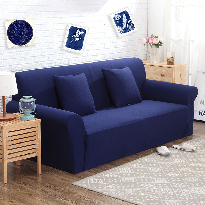 Arm Chair Three Seater Sofa Cover Slipcover Stretch Lounge Couch Protector Slip For Living Room Home Textile Decoration
