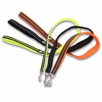 Nylon 3M Reflective Dog Leashes Outdoor Trainning Pet Cat Dog Leash With Soft Air Mesh Padded