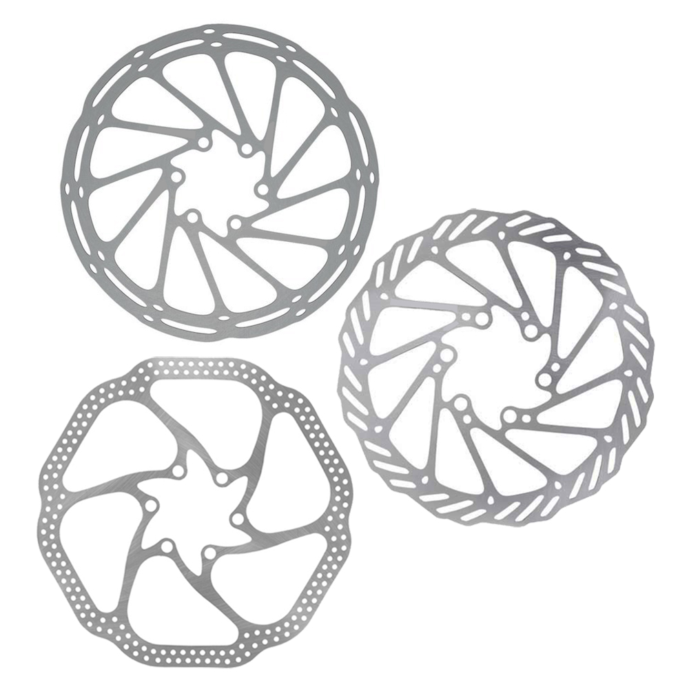 MTB Racing Mountain Bicycle Brake Disc 140mm//180mm 6 Bolts Rotor Aluminum Alloy