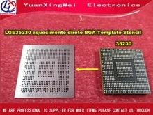 送料無料 1 個 LGE35230 液晶 0.4 ミリメートル 0.45 ミリメートル aquecimento direto bga テンプレートステンシル