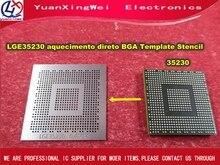 Free Shipping 1PCS LGE35230 LCD  0.4MM  0.45MM  aquecimento direto BGA Template Stencil