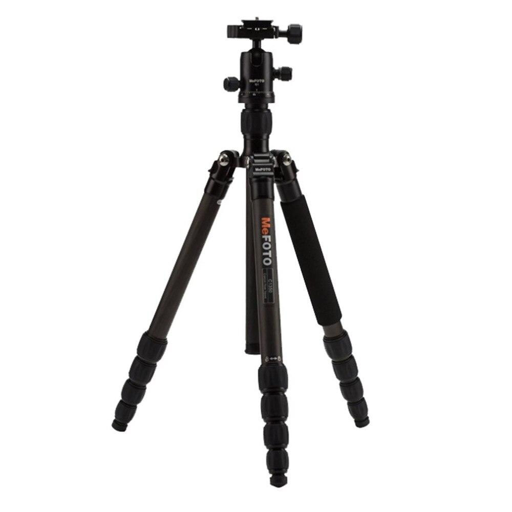 MeFOTO Tripod Monopod C1350Q1 Steady Hold SLR Camera Portable Tripod With Tripod Head Carbon Fiber Photography Equipment