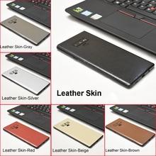 3D Carbon Fiber /Leather/ Wood Phone Back Skins Sticker For Samsung Galaxy S10 Plus S10e Note 9 8 S9+ S8 Plus S7 Edge