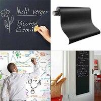 Zwart Board Stickers Voor Kinderen Kamers Meeting Board Sticker Fancy-fix Schoolbord Vinyl Peel Zelfklevende Krijtbord Muursticker
