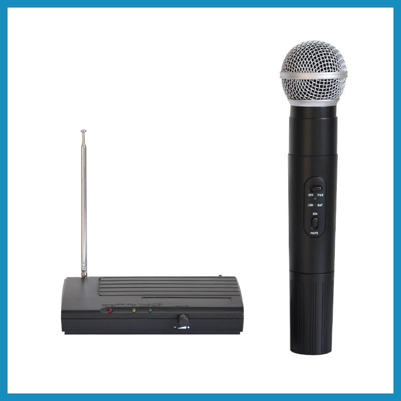 LX-68 Hot sell cheap price professional dj equipment ktv karaoke VHF Wireless Microphone system chauvet dj lx 5