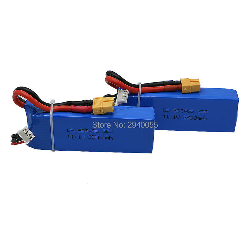 Cheerson CX-20 cx20 2pcs  11.1v 2800mah 30C li-po battery  cx 20 rc quadcopter spare parts wholesale Free Shipping cx 20 cx20 spare parts remote controller transmitter for cheerson rc cx 20 quadcopter spares wholesale free shipping shuang he