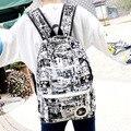 Рюкзак ГОРЯЧЕЙ 2016 новой Корейской версии приток женщин студенты дорожная сумка Камуфляж граффити сумка