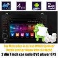 Bluetooth Android 6.0 Jogador Do Carro DVD Rádio GPS WI-FI Para N-ENZ Um-cl/ass W209 Crafter Sprinter W169 W245 Viano Vito LT3