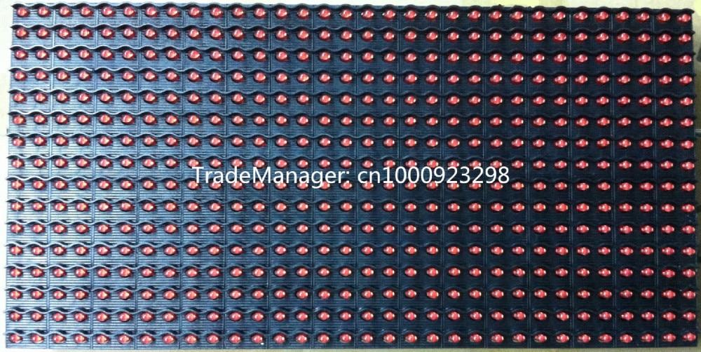P10 жартылай ашық бір қызыл түсті - LED Жарықтандыру - фото 3
