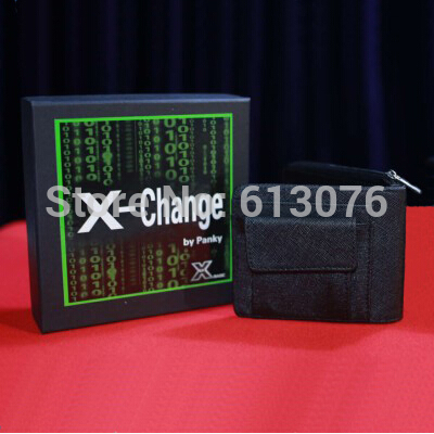 X-Change Wallet,one set wallet - magic tricks,illusions,stage ,magicians,gimmick,illusion,mentalism,prop ring illusion magic tricks stage disappearing mentalism gimmick accessories professional magicians
