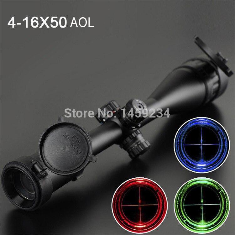 Telescopic sight SNIPER 4-16X50 AOL Reflex Sight gun sight riflescopes LLL night vision scopes for hunting Free Shipping sniper elite v2 цифровая версия