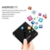 OTHA A5X Max 4GB 32GB Smart Android 7 1 TV Box Dual WiFi 1000M LAN BT