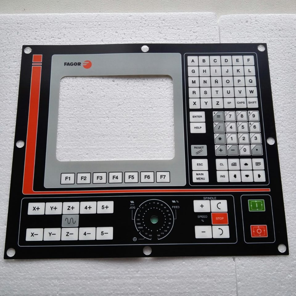 FAGOR CNC system NC8055 Membrane Keypad , Have in stock 8055i cnc 8055i a m fagor key button membrane for cnc system fast shipping