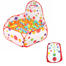 2019 Portable Baby Playpen Children Indoor Ball Pool Play Tent Foldable Polka Dot Kids Playpens Outdoor Child Safe Fence Playpen playpen brevi soft play 587