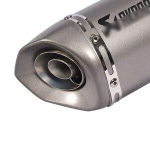 Image 5 - 38~51mm Universal Motorcycle Exhaust Muffler Modified with DB Killer For PCX150 CBR125 CBR150 MSX125 M3 MSX125SF CBR250 CBR300R