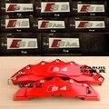 Durable RS Sline S line emblem logo Car PVC Race Trim Sticker Caliper Disc Brake wheel cylinder For Audi A4 A6 A5 A7 A3 Q3 Q5 Q7