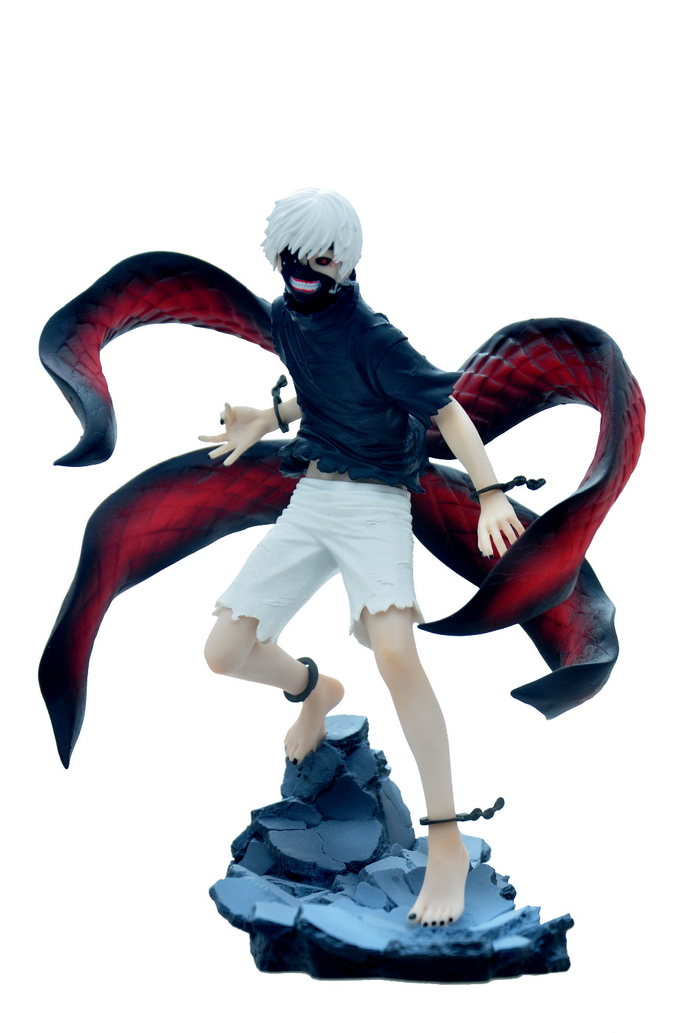 NEW hot ! 23cm Kaneki Ken Tokyo Ghoul 2 generation of dark Jin Muyan pvc action figure toys Christmas gift 2 style tokyo ghoul kaneki ken awakened ver pvc action figure collectible model doll toy 22cm
