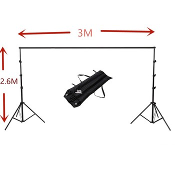 2.6M X 3M(8.5ft*10ft) Photography Photo Backdrops Background Support System Stands For Photo Video Studio With carry bag Background