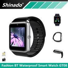 Wasserdichte Smartwatch GT08 Bluetooth Smart Uhr Unterstützung SIM Tf-karte Kamera Sport Fitness Tracker Smartwatch Für IOS Android