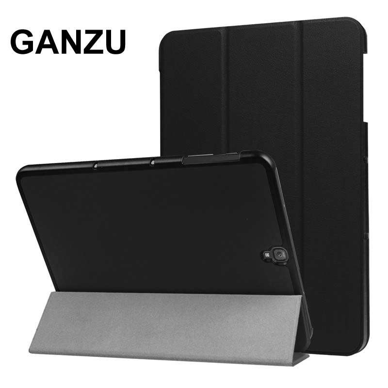 For Samsung Galaxy Tab s3 9.7 Case PU Leather Cover For Sansung SM-T820 SM-T825 SM-T819 T820 T825 Folding Stand Protective Case new fashion tab s3 9 7 tablet case pu leather flip cover for samsung galaxy tab s3 9 7 inch t820 t825 cute stand cover 6 colors