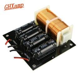 Crossover puro do subwoofer de ghxamp com o divisor de frequência do subwoofer do cabo 125 hz 800 w para o orador de 5-18 polegadas do woofer 1 pc