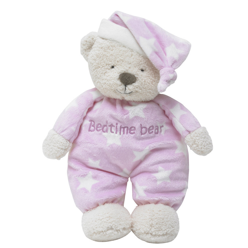 Teddy Bear Stich Plush Toy Bedtime Bear Animal Stuffed Toy Soft Sleep Doll Baby Toys Appease Baby Doll Unique Gifts For Children
