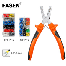 цена на PZ 0.25-2.5/1.5-6 deutsch mini-type crimping pliers sleeve electric tube terminal kit crimping tool set crimping pliers