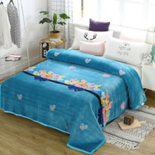Home Textile Soft Solid Blanket Fleece Flannel Adult Sofa Bedding Manta Red Green Blue Throw Blankets for Beds