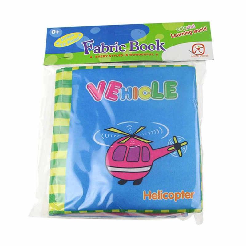 Оптовая продажа, Прямая доставка, новая детская мягкая ткань, развивающая интеллект, обучающая картина, книга, красочные фотографии S23JUN5