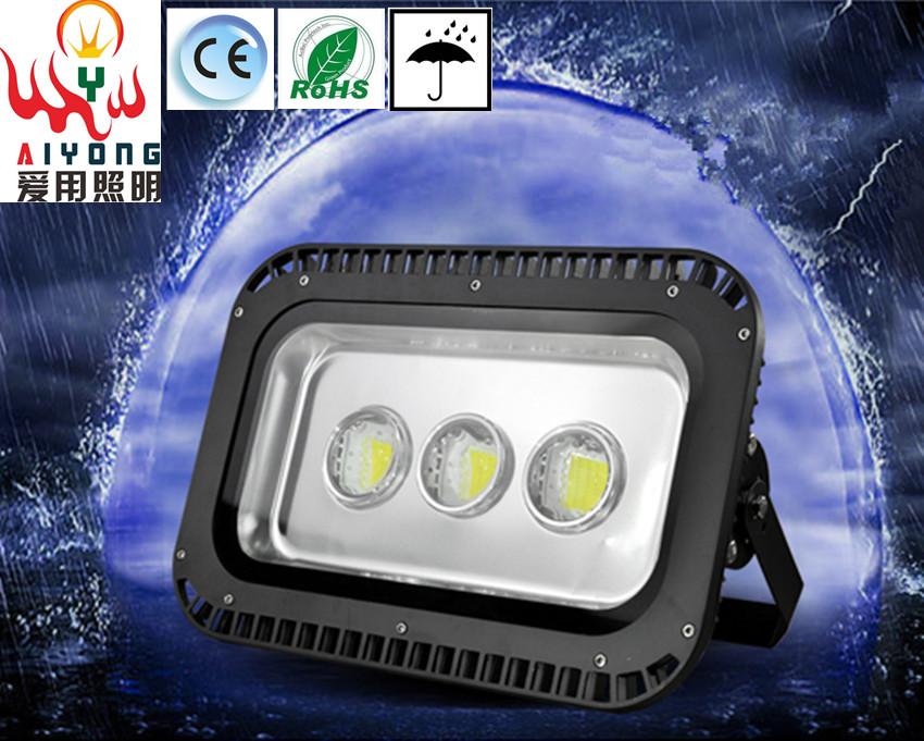 LED floodlights Tunnel 200w300w400w led project lights lens single lamp lights waterproof outdoor light to shoot the light