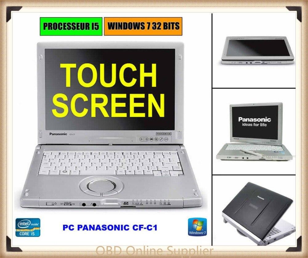 Panasonic toughbook cf-c1 tela sensível ao toque Do Portátil Tablet Núcleo i5-2520M 2.5 GHz 4 GB Ram Win 7 for Estrela C3 C4 C5 ICOM ICOM A2 A3 C6 P