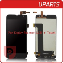 100% Tested Brand New For Explay Phantom LCD Display Touch Screen Assembly LCD Digitizer Glass Panel Replacement Free Shipping