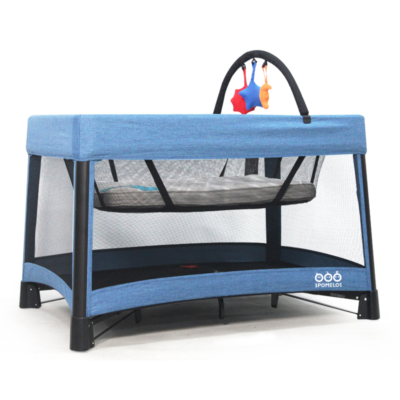 Multifunctional Portable Baby Bed Foldable Baby Cot Big Bed Infant Travel Sleeper Baby Crib Folding Crib