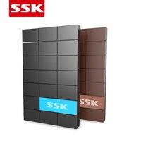 Ssk Sata2 do usb3.0 zewnętrzny 2.5 HDD/SSD HD dysk twardy case/obudowa/box szybkość do laptopa/komputera/Mac Darmowa wysyłka