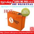 Бесплатная доставка сигма коробка + Pack1 + Pack2 + pack 3 + 9 кабели Активизированный Для Huawei