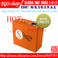 free shipping sigma box +Pack1+Pack2+pack 3 + 9 cables Actived For Huawei