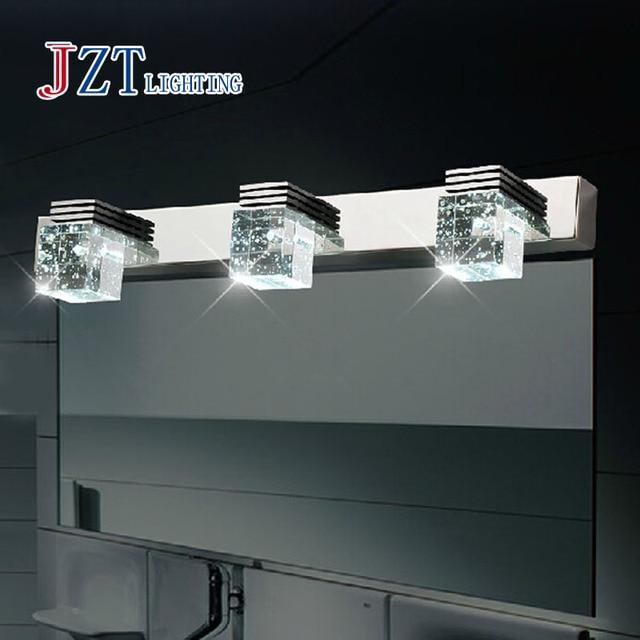 Z Best Price Modern Bathroom Crystal Lights Crystal Wall Lamp 3 Light LED  Bathroom Light Cabinet