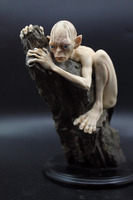 Movie Lord Of The Rings Gollum Brozen Statue The Golden Model The Hobbit Figure 15CM